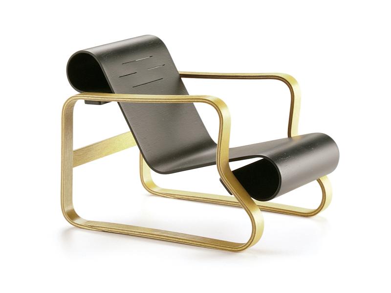 Poltrona Pamio, de Alvar Aalto
