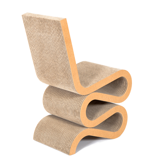 Wiggle Side Chair, de Frank Gehry