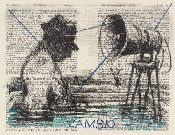 Cambio 1999 by William Kentridge born 1955